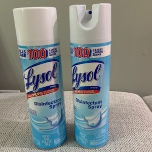 Lysol Spray Cleaning 2